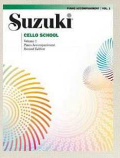 LIBROS 110 SUZUKI CELLO VOL 1,