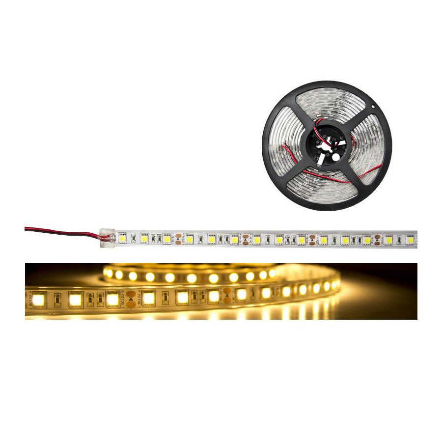 QUARKPRO 127FLEX60BC BOBINA LED 5 M. 60 led/m. BLANCO CALIDO