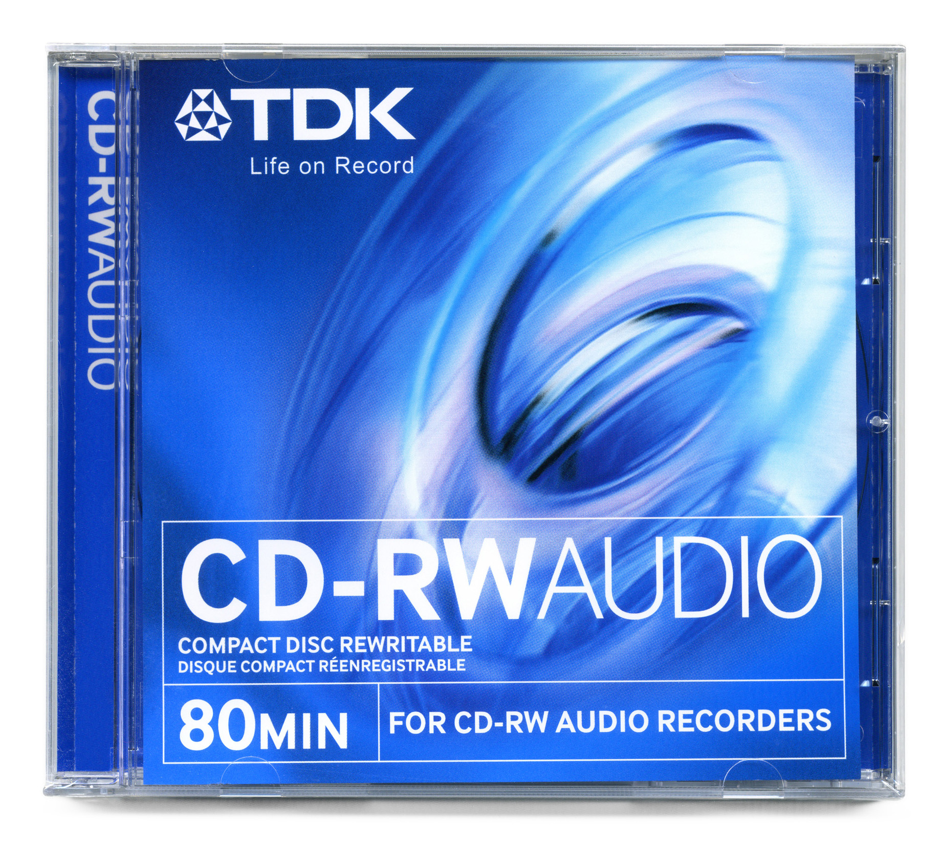TDK 154356 CD AUDIO TDK CD-RXG 74 Y 80 MIN