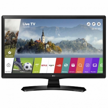 "LG 24MT49S-PZ TV LED LG 24"" HD READY SMART TV TDT2-SAT2 HD USB MULTIMEDIA COLOR NEGRO"
