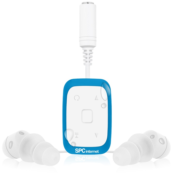 SPC 8334A REPRODUCTOR MP3 SPC INTERNET 8334A ACUATICO 4GB COLOR AZUL