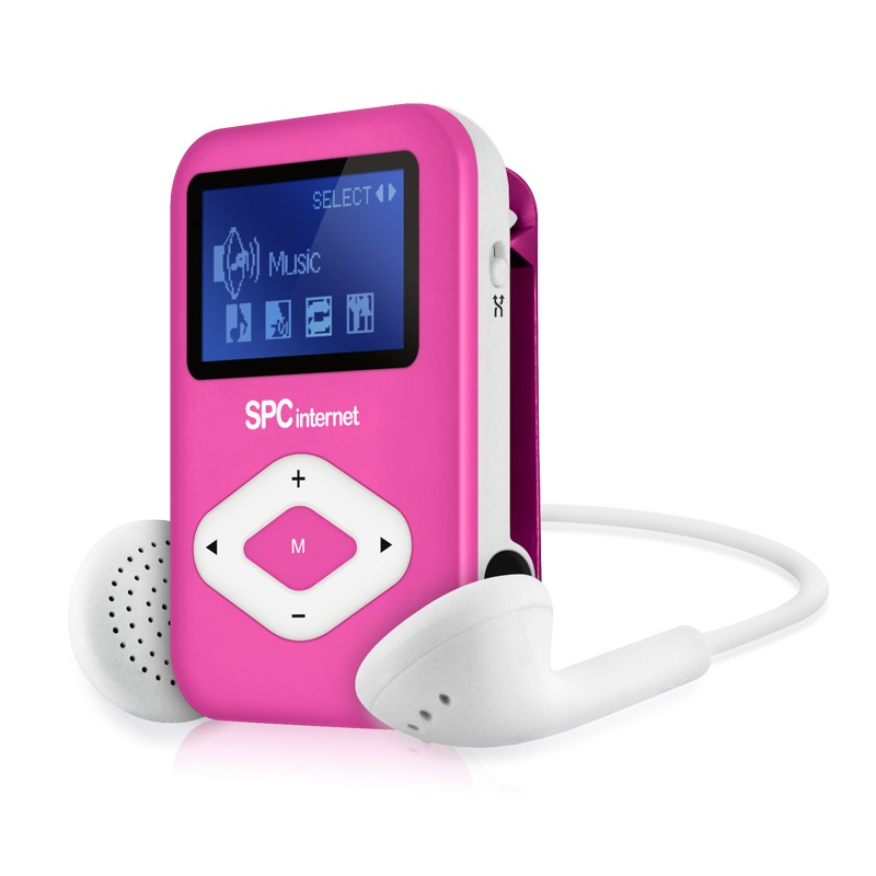 TELECOM 8434P REPRODUCTOR MP3 TELECOM 4 GB FM COLOR ROSA