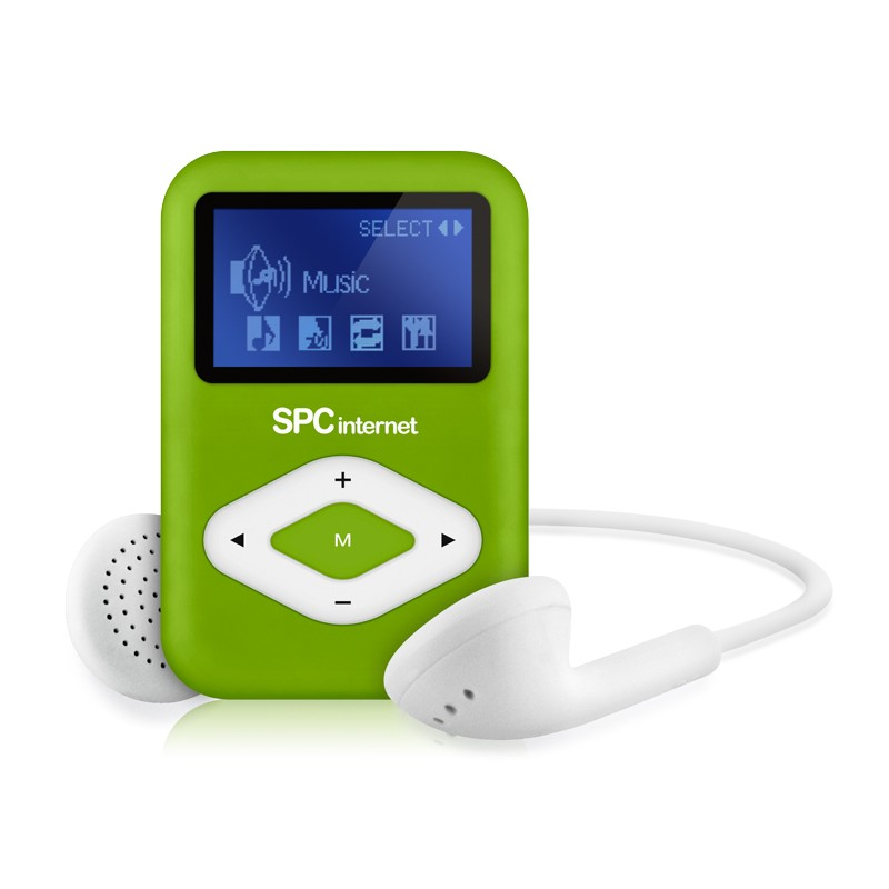 TELECOM 8434V REPRODUCTOR MP3 TELECOM 4 GB FM COLOR VERDE