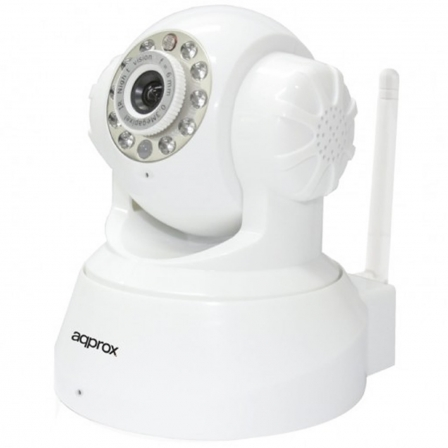 APPROX APPIP02P2P CAMARA IP INALAMBRICA APPROX APPIP02P2P LENTE 3.6MM SENSOR CMOS 720P - HD - INST. AUTOMATIC