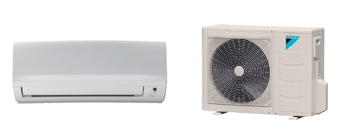 Aire acondicionado split daikin 4500 frigorias inverter for Bomba de calor inverter