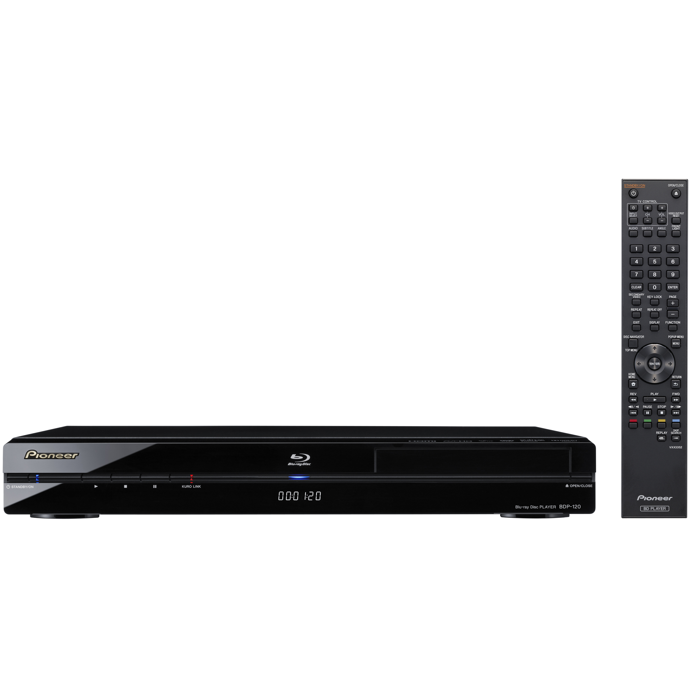 PIONEER BDP120 REPRODUCTOR BLUE RAY PIONEER BDP120