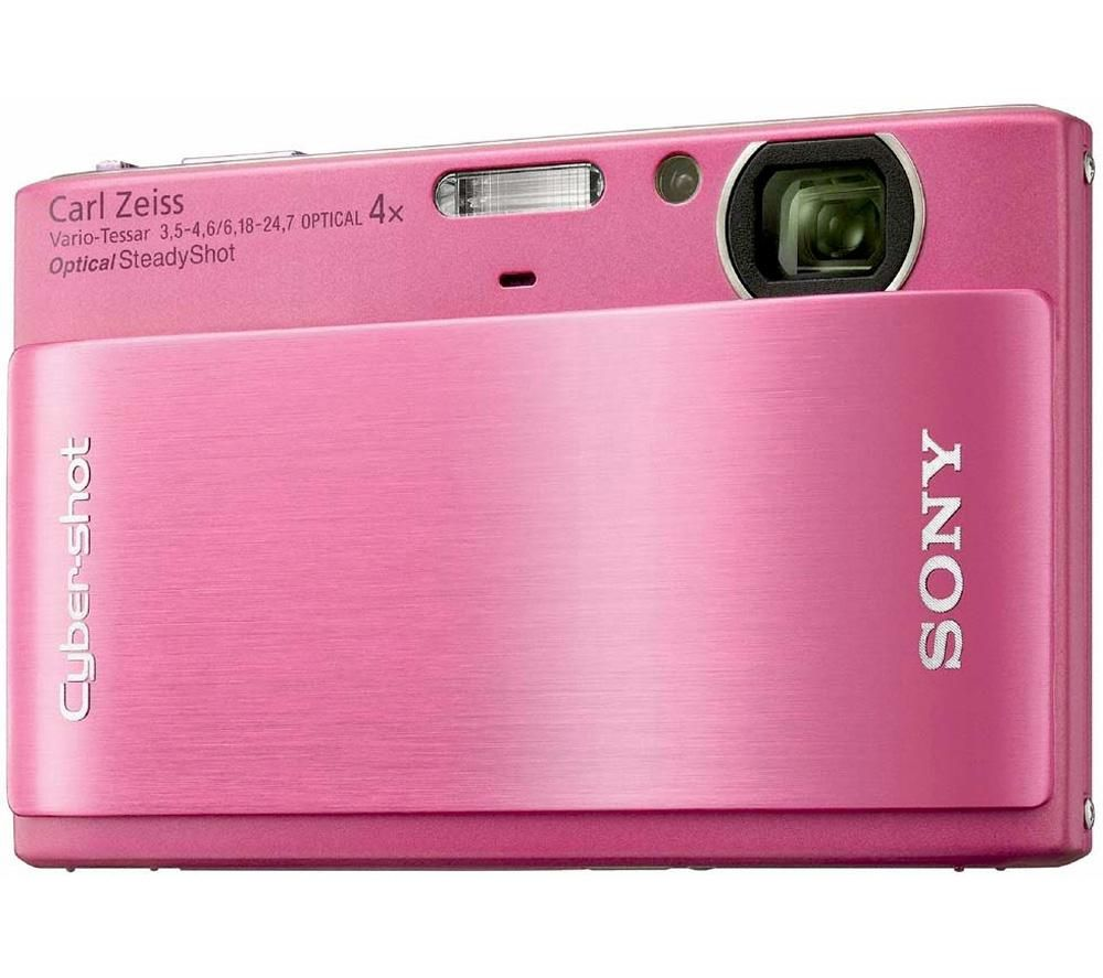 "SONY DSCTX1P CAMARA DIGITAL SONY 10 MP. 4X TFT 3"" TACTIL COLOR ROSA"