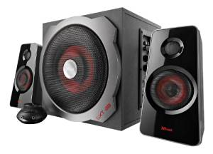 TRUST 19023 ALTAVOCES TRUST TYTAN GXT38 2.1 SUBWOOFER SPEAKER SET 60W RMS PARA PC / WII / PS3 / XBOX 36
