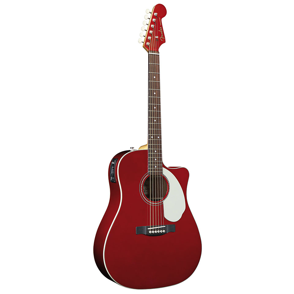 FENDER 0968604009 GUITARRA ACUSTICA FENDER Sonoran SCE  Candy Apple Red v