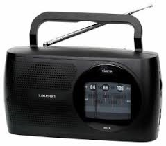 LAUSON RA113 RADIO DIGITAL LAUSON PORTATIL AM/FM COLOR NEGRA